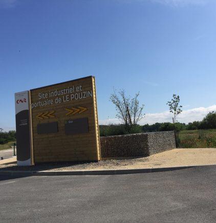 Osmose Paysage, architecte paysagiste à Yssingeaux, en haute-Loire - Site industriel Le Pouzin