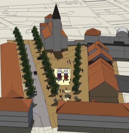 Osmose Paysage, conception et ingénierie de l'espace public, Le Teil (07)